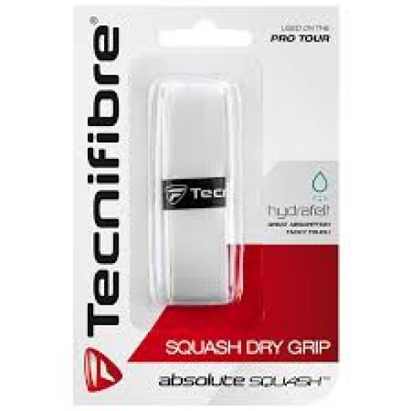 Намотка базовая Tecnifibre Squash Dry grip Белая